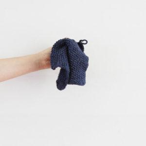 Didrik - Färg: Återvunnen jeans Mellan - Miljövänlig disktrasa