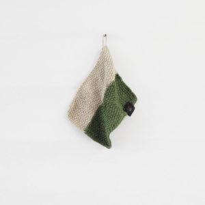 Didrik 2.0 - Färg: Natur och Mossa - Stickad disktrasa