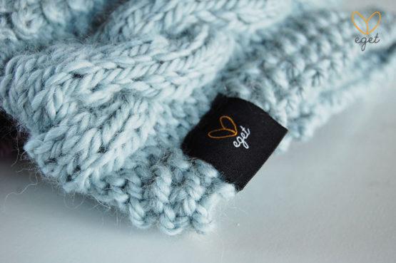 Adrian - Färg: Frost - Stickat pannband