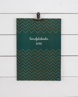 Familjekalender, kalender 2019 - Väggkalender